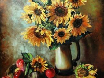 طببعت بیجان گلهای آفتابگردان