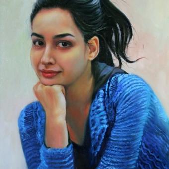 دختر جوان